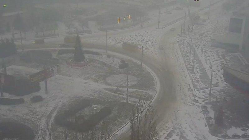 Одессу накрыло снегом (ВИДЕО), фото-2