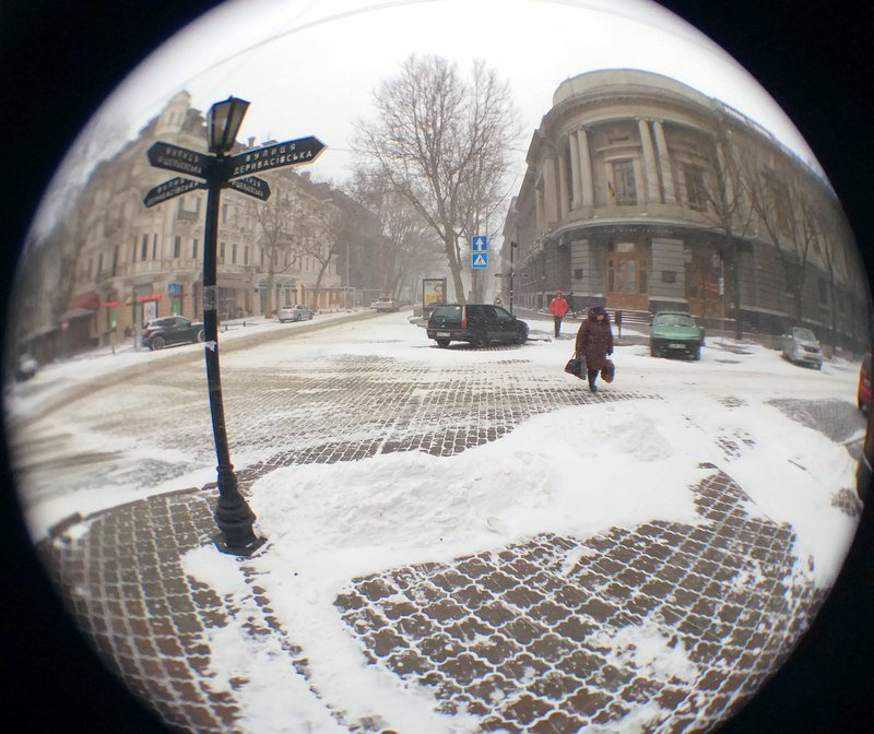 Снегопад укутал Одессу целиком всего за несколько часов (ВИДЕО, ФОТО), фото-20