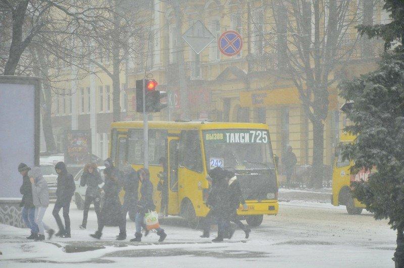 Снегопад укутал Одессу целиком всего за несколько часов (ВИДЕО, ФОТО), фото-2