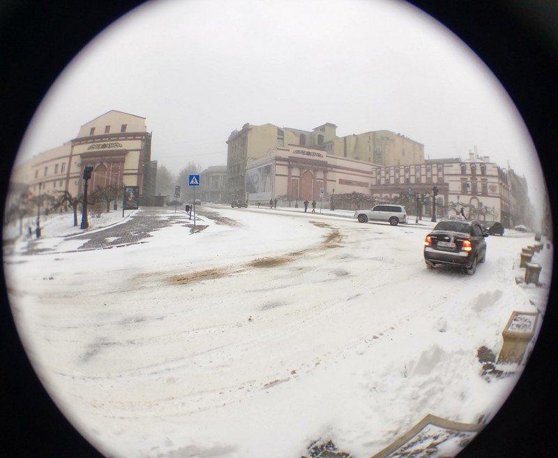 Снегопад укутал Одессу целиком всего за несколько часов (ВИДЕО, ФОТО), фото-19