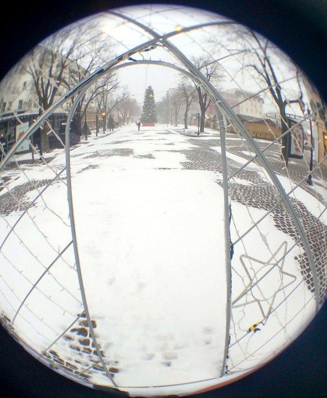 Снегопад укутал Одессу целиком всего за несколько часов (ВИДЕО, ФОТО), фото-18