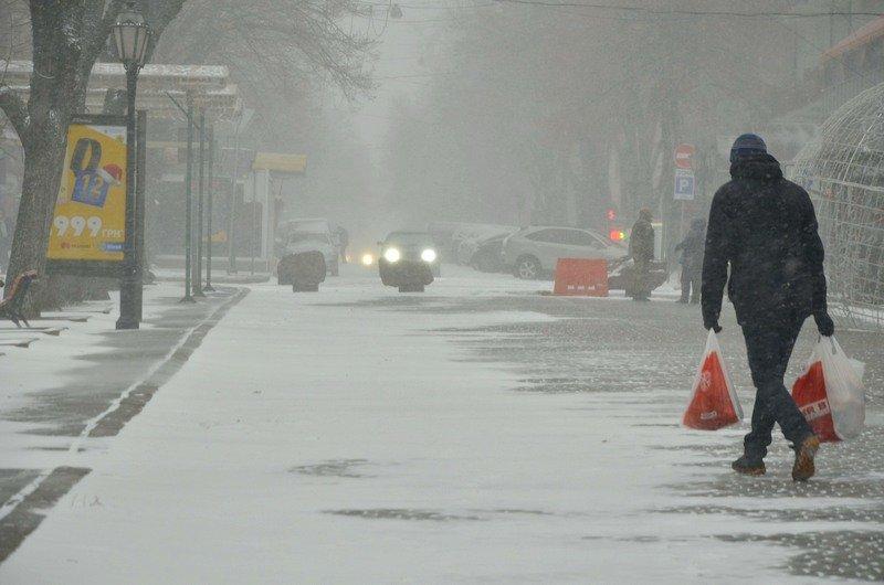Снегопад укутал Одессу целиком всего за несколько часов (ВИДЕО, ФОТО), фото-9