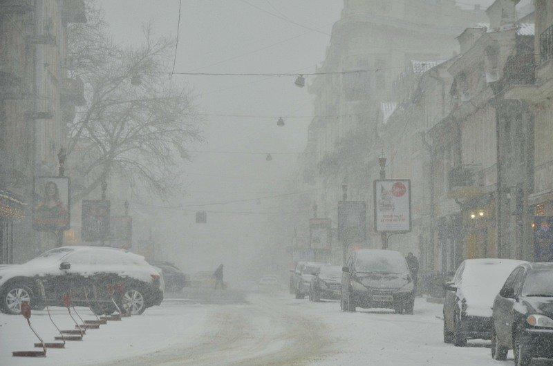 Снегопад укутал Одессу целиком всего за несколько часов (ВИДЕО, ФОТО), фото-16