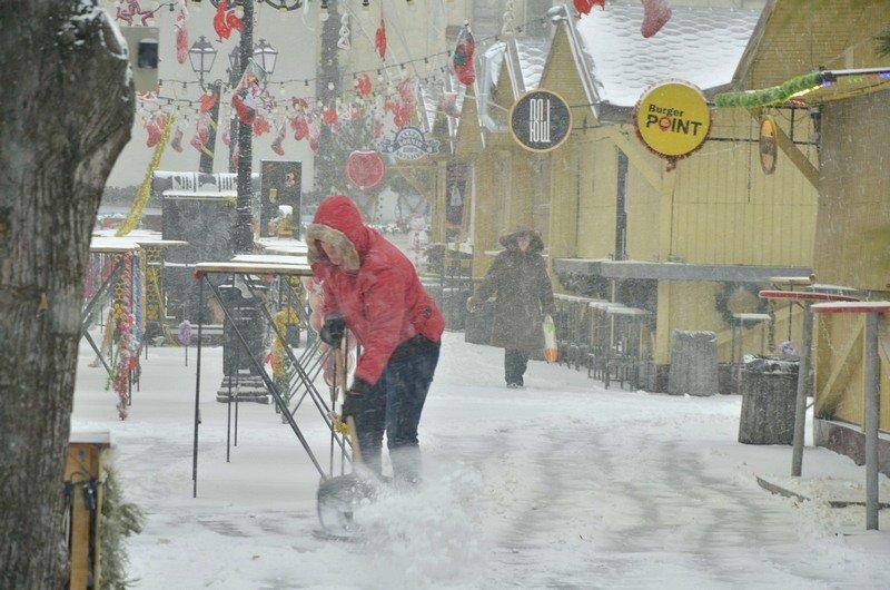 Снегопад укутал Одессу целиком всего за несколько часов (ВИДЕО, ФОТО), фото-8