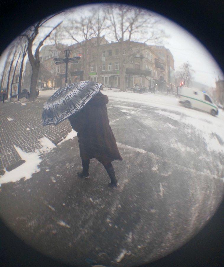 Снегопад укутал Одессу целиком всего за несколько часов (ВИДЕО, ФОТО), фото-21
