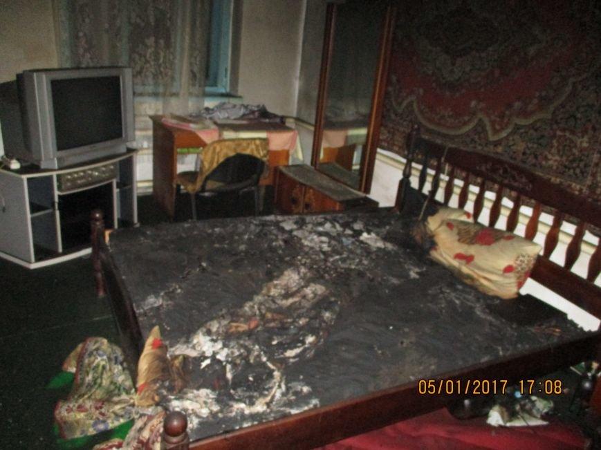 В Бердянске на пожаре погиб мужчина, фото-1