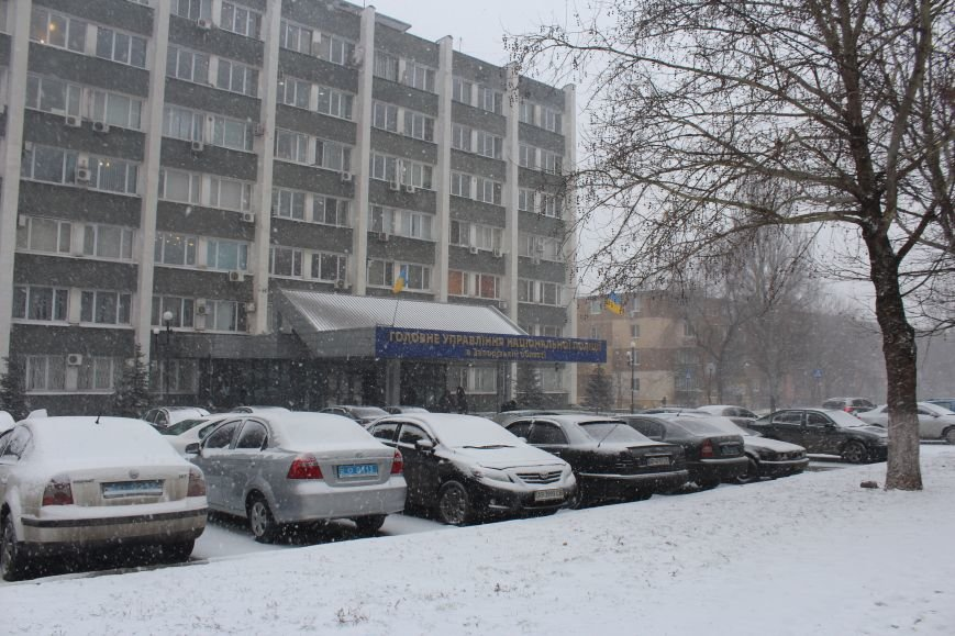 Запорожье заметает снегом, - ФОТОРЕПОРТАЖ, фото-7