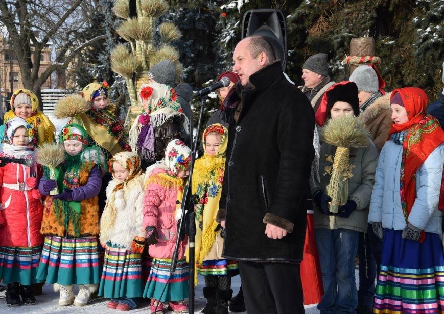 У Луцьку встановили символ Різдвяних свят, фото-8