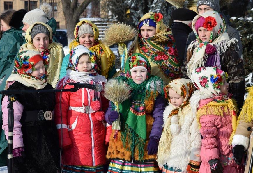 У Луцьку встановили символ Різдвяних свят, фото-7
