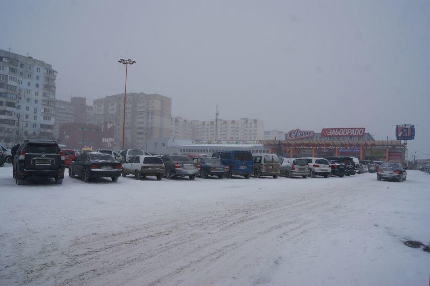 На центральных улицах Одессы так и не появилась снегоуборочная техника (ФОТОРЕПОРТАЖ), фото-3