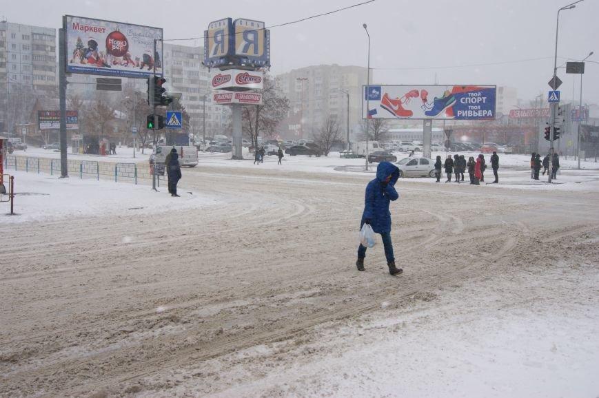 На центральных улицах Одессы так и не появилась снегоуборочная техника (ФОТОРЕПОРТАЖ), фото-5
