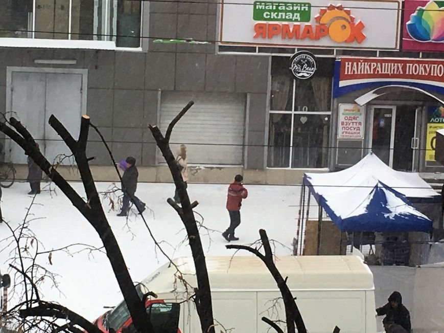 Кривой Рог за несколько часов замело снегом (ФОТО), фото-7