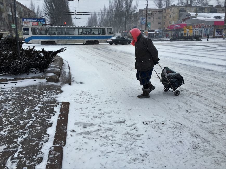 Кривой Рог за несколько часов замело снегом (ФОТО), фото-13