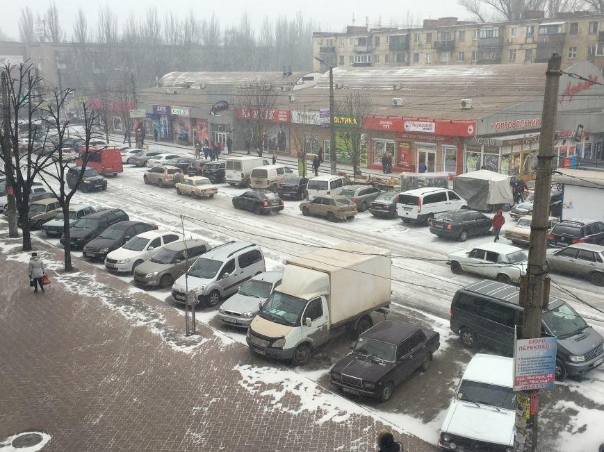 Кривой Рог за несколько часов замело снегом (ФОТО), фото-3