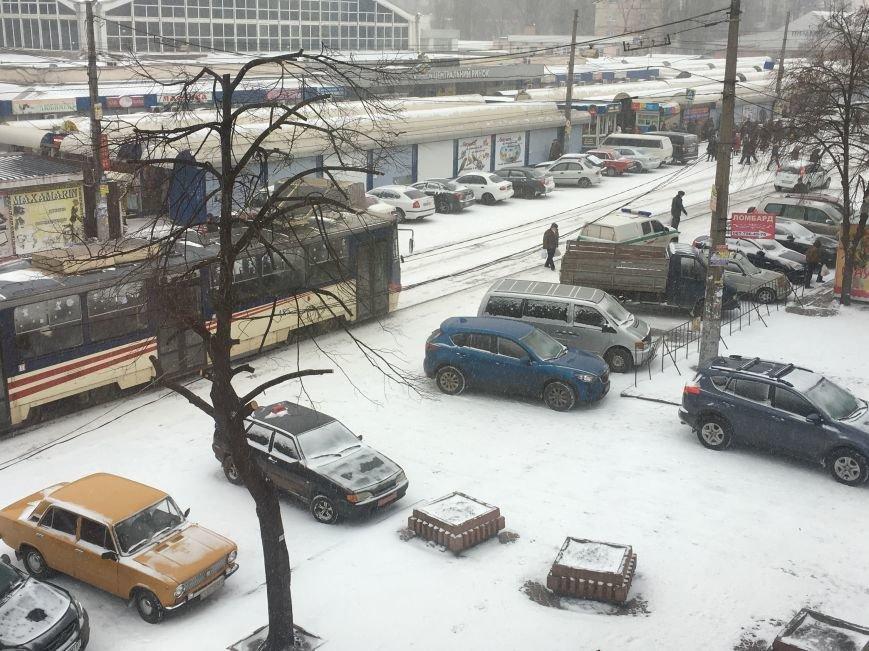 Кривой Рог за несколько часов замело снегом (ФОТО), фото-6