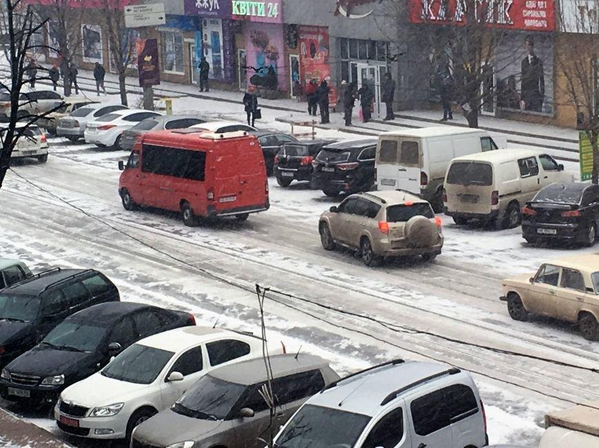 Кривой Рог за несколько часов замело снегом (ФОТО), фото-2