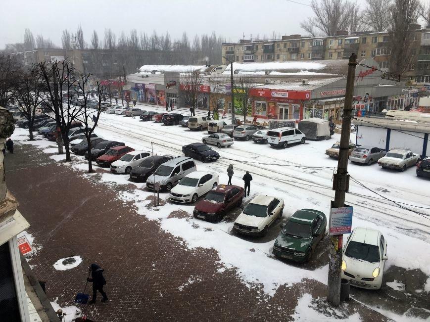 Кривой Рог за несколько часов замело снегом (ФОТО), фото-8