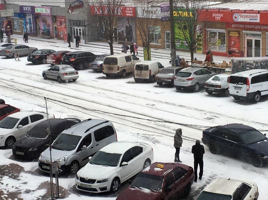 Кривой Рог за несколько часов замело снегом (ФОТО), фото-9