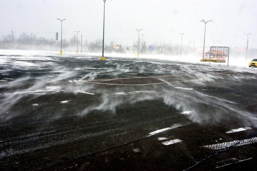 Сказка среди стихии: Снежные вихри в Одессе (ФОТО, ВИДЕО), фото-4