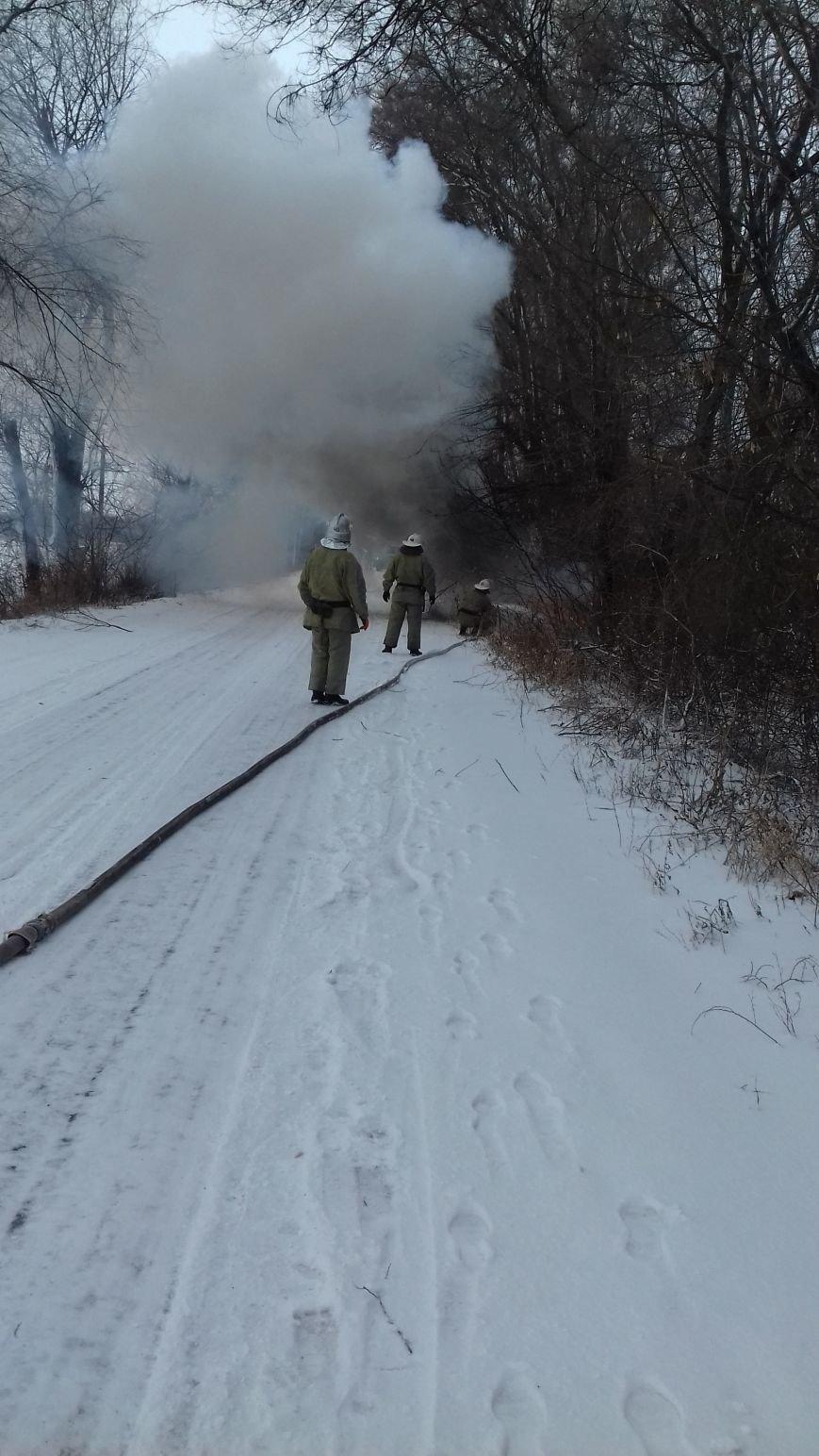 Под Днепром загорелась легковушка (ФОТО), фото-1