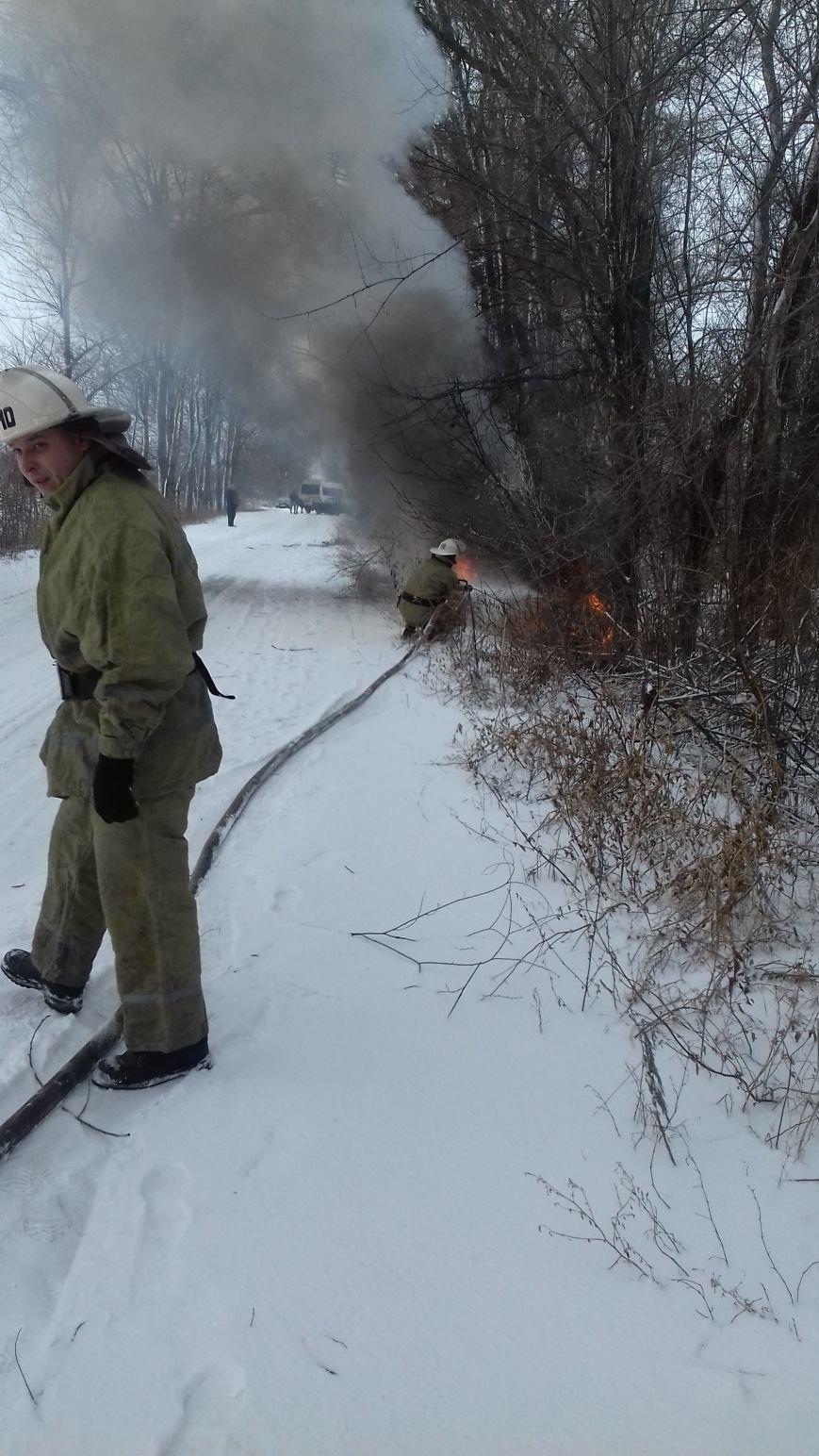 Под Днепром загорелась легковушка (ФОТО), фото-2