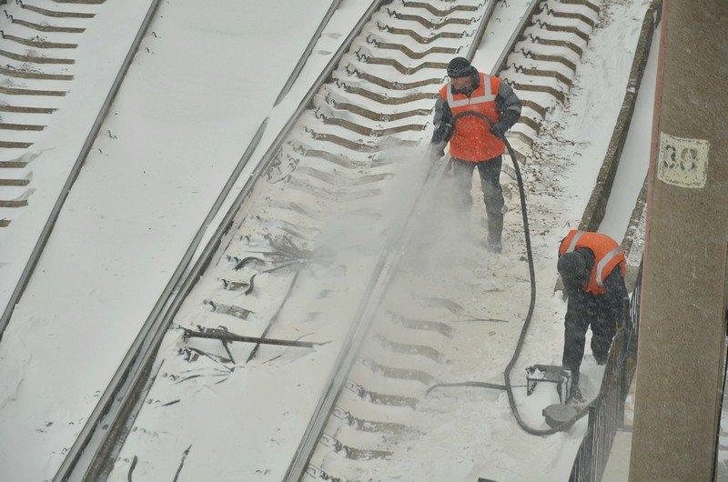 Электрички идут с вокзала Одессы и обратно с опозданием (ВИДЕО, ФОТО), фото-3