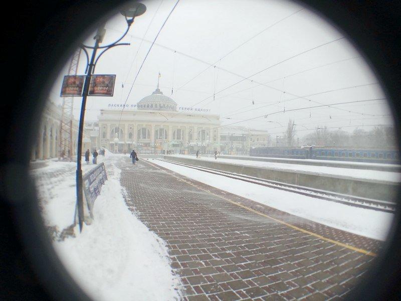 Электрички идут с вокзала Одессы и обратно с опозданием (ВИДЕО, ФОТО), фото-12