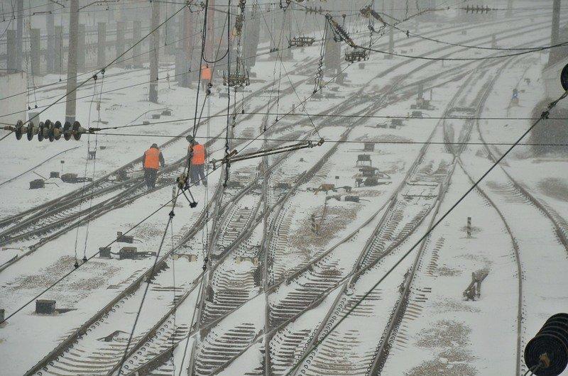 Электрички идут с вокзала Одессы и обратно с опозданием (ВИДЕО, ФОТО), фото-5
