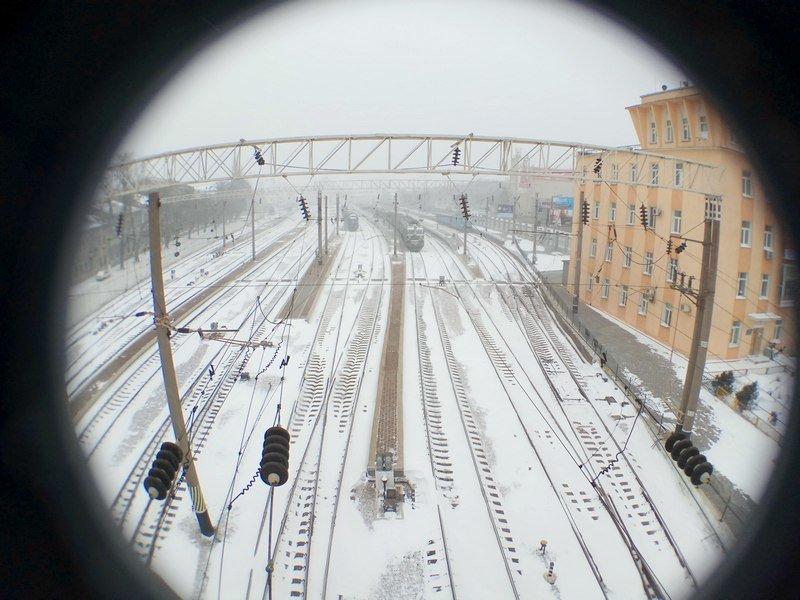 Электрички идут с вокзала Одессы и обратно с опозданием (ВИДЕО, ФОТО), фото-13