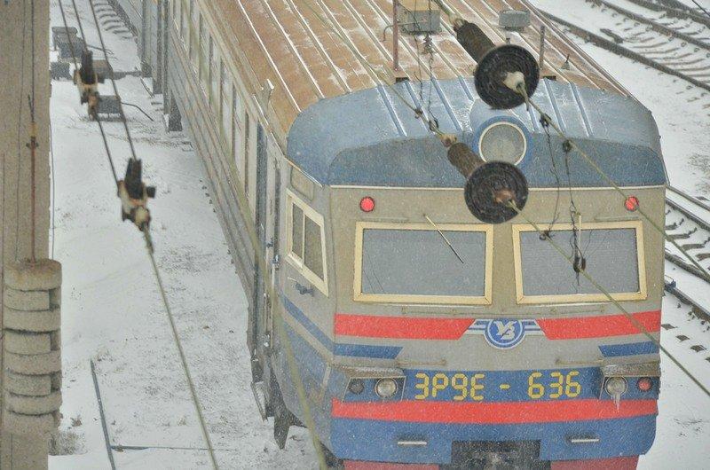 Электрички идут с вокзала Одессы и обратно с опозданием (ВИДЕО, ФОТО), фото-1