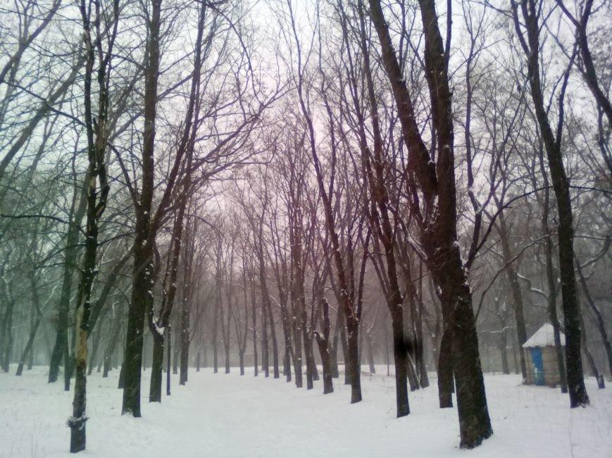 Как выглядит проспект Гагарина в Днепре во время снежного шторма (ФОТОРЕПОРТАЖ), фото-4