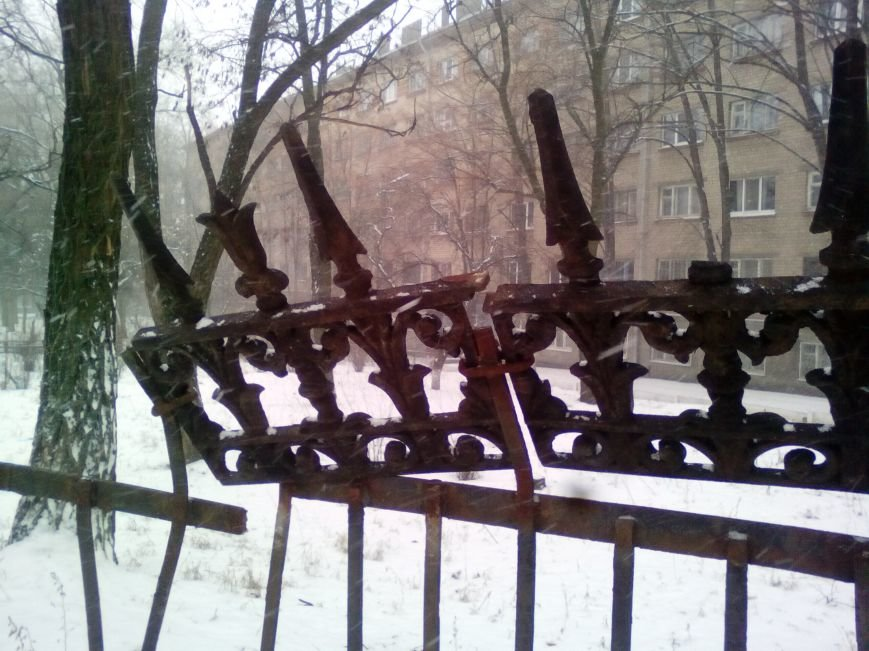 Как выглядит проспект Гагарина в Днепре во время снежного шторма (ФОТОРЕПОРТАЖ), фото-10