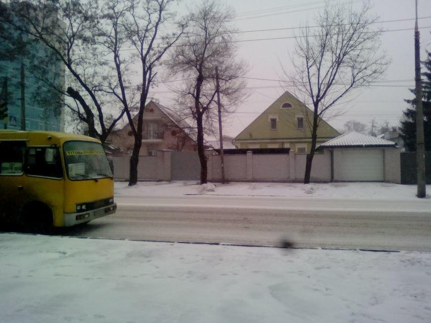 Как выглядит проспект Гагарина в Днепре во время снежного шторма (ФОТОРЕПОРТАЖ), фото-7