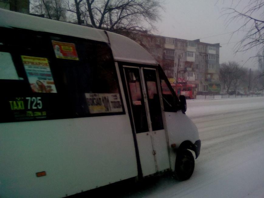 Как выглядит проспект Гагарина в Днепре во время снежного шторма (ФОТОРЕПОРТАЖ), фото-9