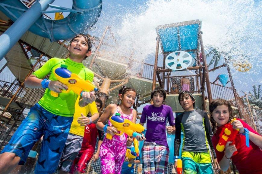 Куда сходить с детьми: водные приключения, мир Феррари, парк дикой жизни, зоопарки, оазисы и парк прыжков Bounce Abu Dhabi, фото-2