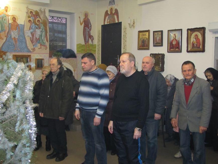 В Мелитополе началась традиционная вечерняя Рождественская служба (фото, видео), фото-3