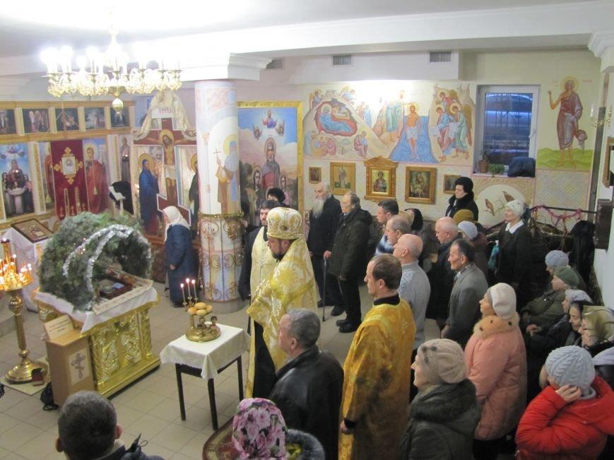 В Мелитополе началась традиционная вечерняя Рождественская служба (фото, видео), фото-2