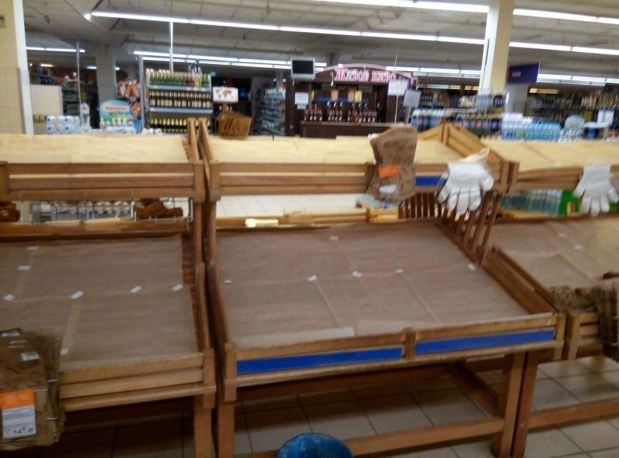 Хлебный кризис: Одесситы смели с прилавков весь хлеб и муку (ФОТО), фото-2