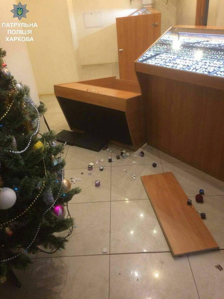 В Харькове пытались ограбить ювелирный магазин (ФОТО), фото-1