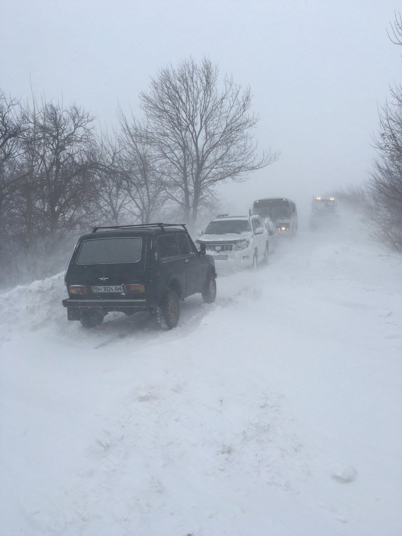 Ситуация на дорогах области: Из Одессы лучше не выезжать (ФОТО), фото-3