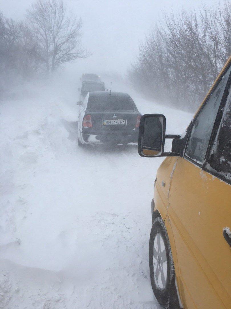 Ситуация на дорогах области: Из Одессы лучше не выезжать (ФОТО), фото-1