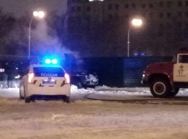 В центре Харькова во время движения загорелась иномарка (ФОТО), фото-1