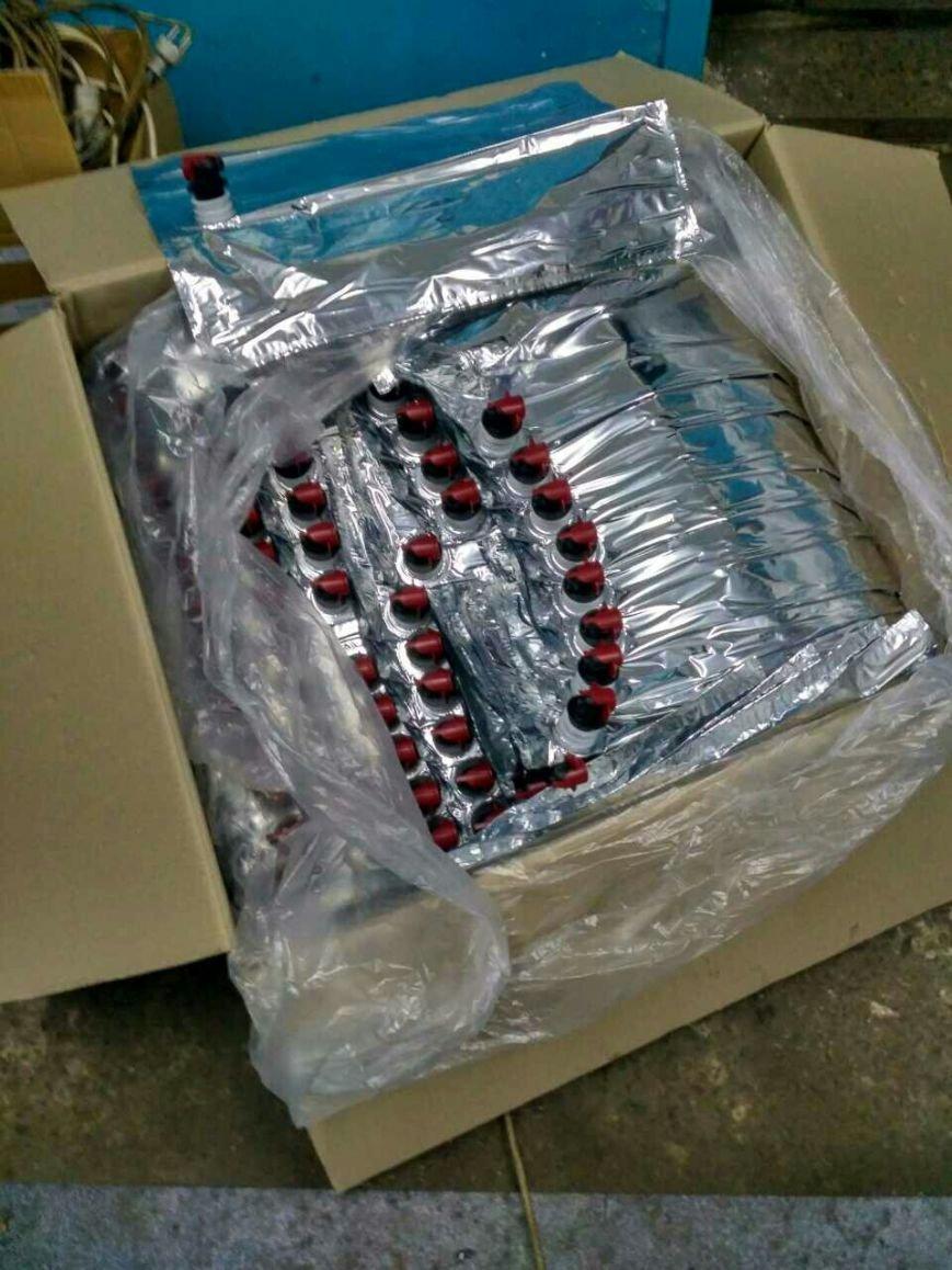 В Броварах виявили цех, де виробляли фальсифікований алкоголь (Фото), фото-1