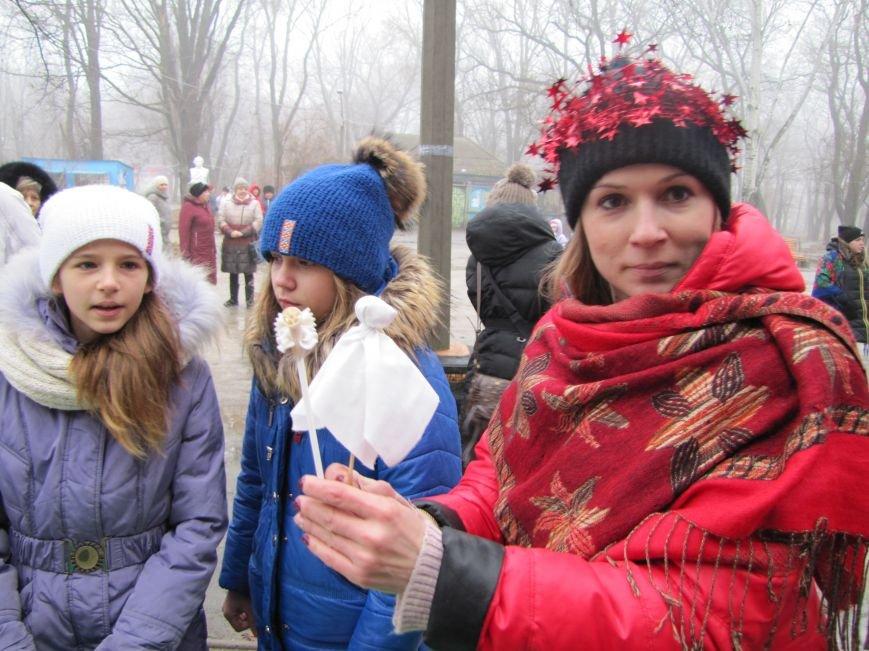 В честь Рождества в парке пели колядки (фото, видео), фото-7