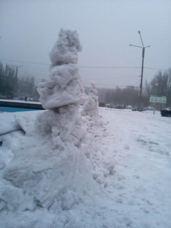 Снеговики у ОГА3