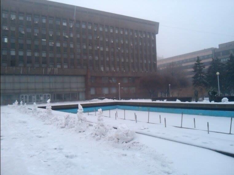 Снеговики у ОГА4