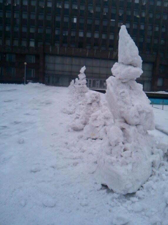 Снеговики у ОГА5