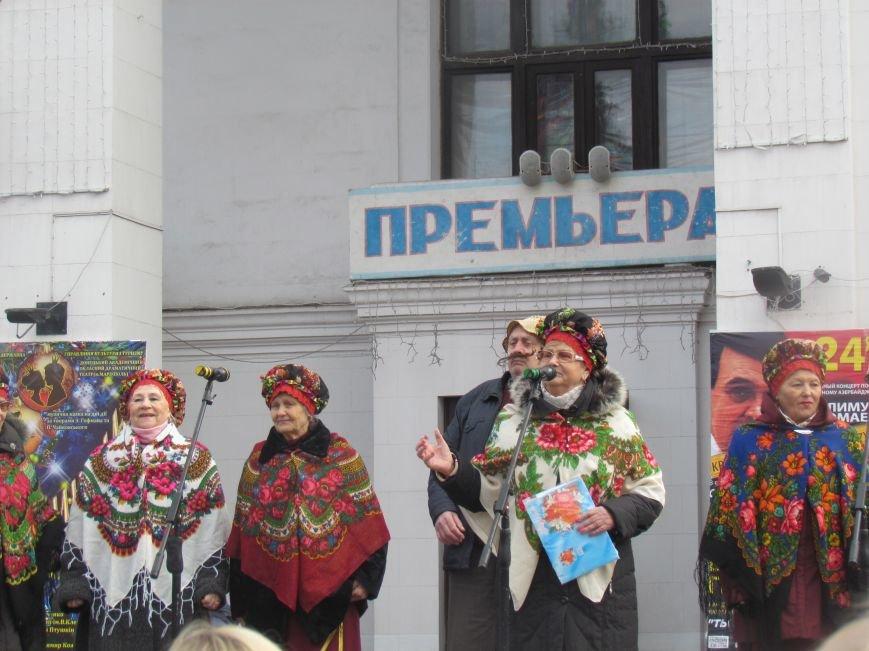Мариупольцев с Рождеством поздравляли песнями (ФОТО), фото-9