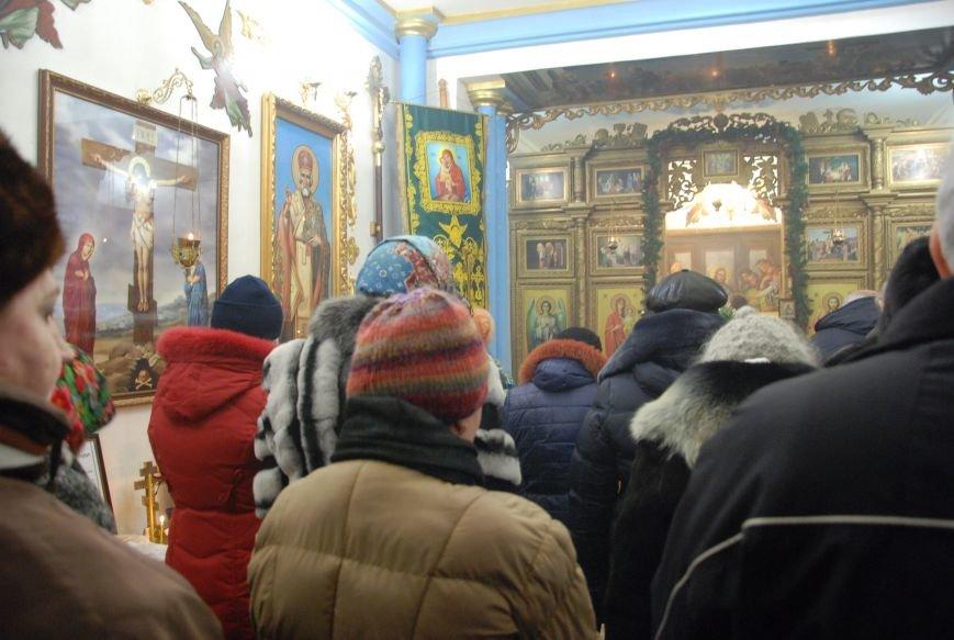 В Бердянске состоялись богослужения на чеcть Рождества (ФОТО), фото-2