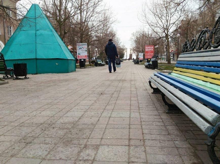 Безлюдный Бердянск: как выглядит курортный город зимой, - ФОТОРЕПОРТАЖ, фото-11